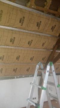 isolation toiture à beuvry la foret réalisé par HAINAUT SERVICE DECO