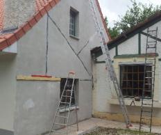 Ravalement de façade à Béthune