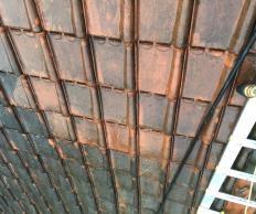 Nettoyage + peinture sur toiture à Denain