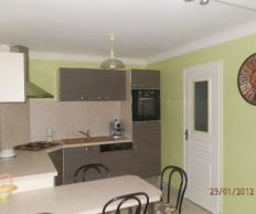 Décoration cuisine salon séjour à Escaudain